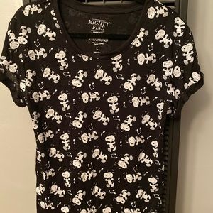MIGHTY FINE PRESENTS PEANUTS Snoopy Tee Large